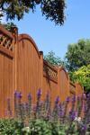 BasicLine Sichtschutz Typ N150 Holzdekor 150x120 cm