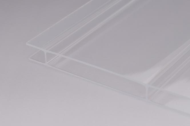 16 mm Stegplatten aus Acrylglas 16/96 glasklar