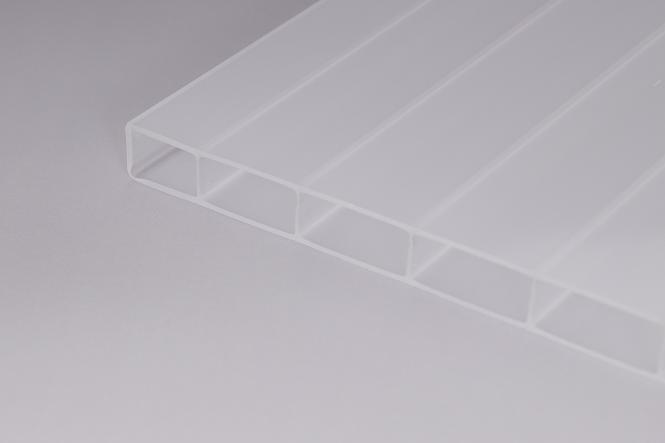 16 mm Stegplatten aus Acrylglas 16/32 weiß-opal