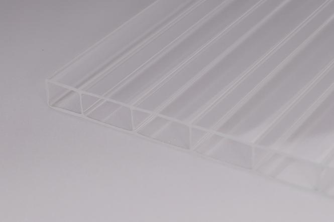 16 mm Stegplatten aus Acrylglas 16/32 glasklar
