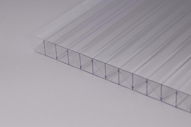 AKTION!!! 16 mm MARLON Fachwerkplatte glasklar