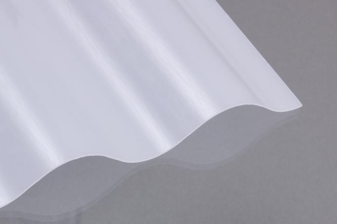 PC Wellplatten 76/18 weiß-opal 0,90 mm
