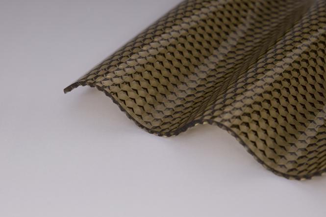 "MARLON® CS Diamond 2,8 mm PC Welle 76/18 Wabe bronze ""HAGELFEST"""