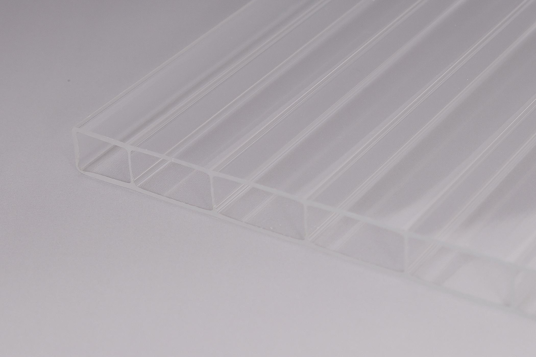 16 mm stegplatten aus acrylglas 16 32 glasklar onlineshop f r wellplatten und stegplatten. Black Bedroom Furniture Sets. Home Design Ideas